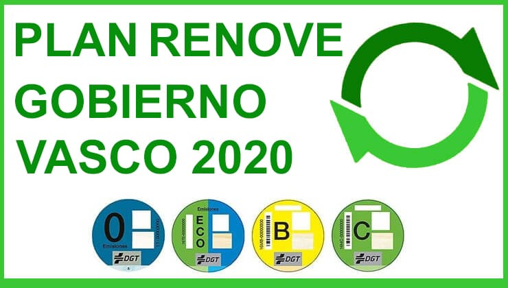 Plan Renove Gobierno Vasco 2020