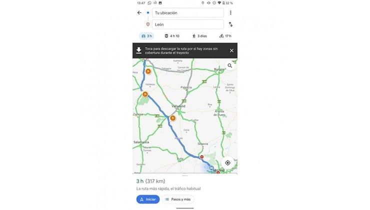 ver-los-radares-en-google-maps-iniciar