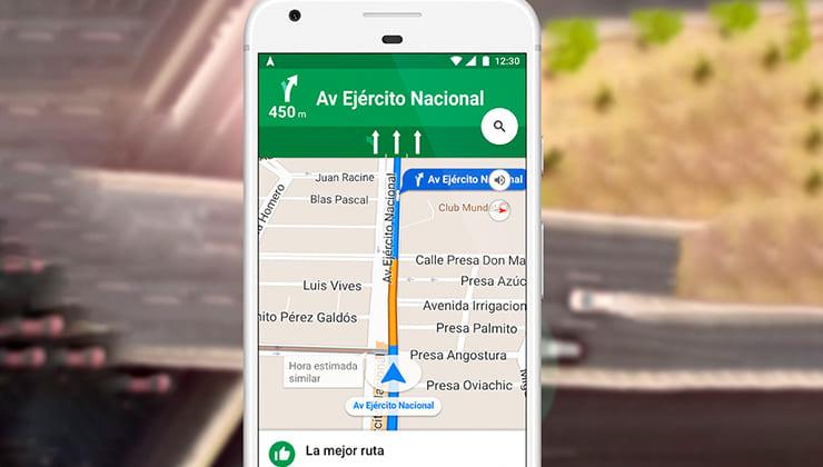 Ver los radares en Google Maps y utilizar la app de avisador