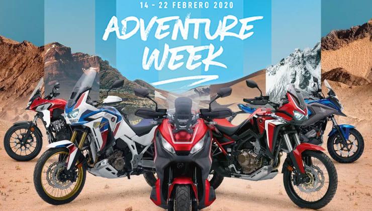 Adventure Week Honda Motos Ortasa
