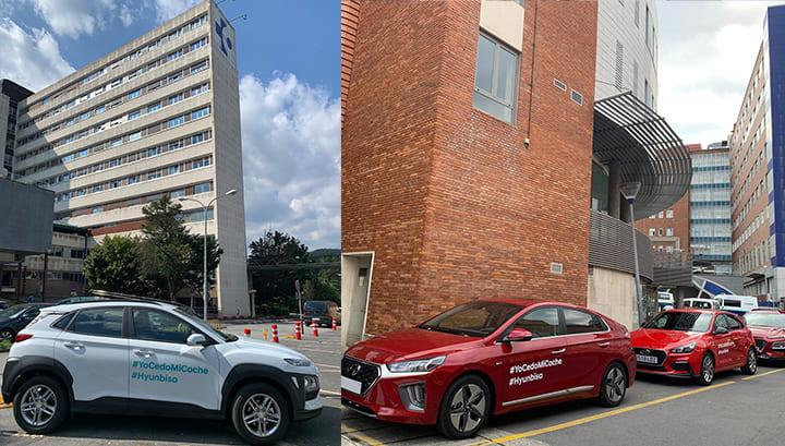 Entrega Vehículos Hyundai Osakidetza