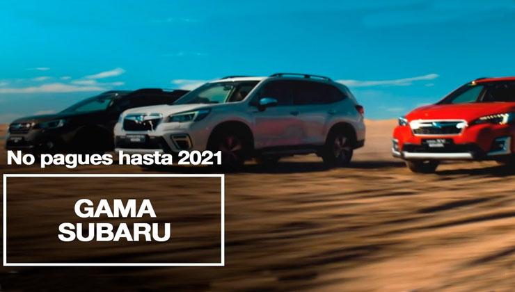 Subaru No Pagues hasta 2021