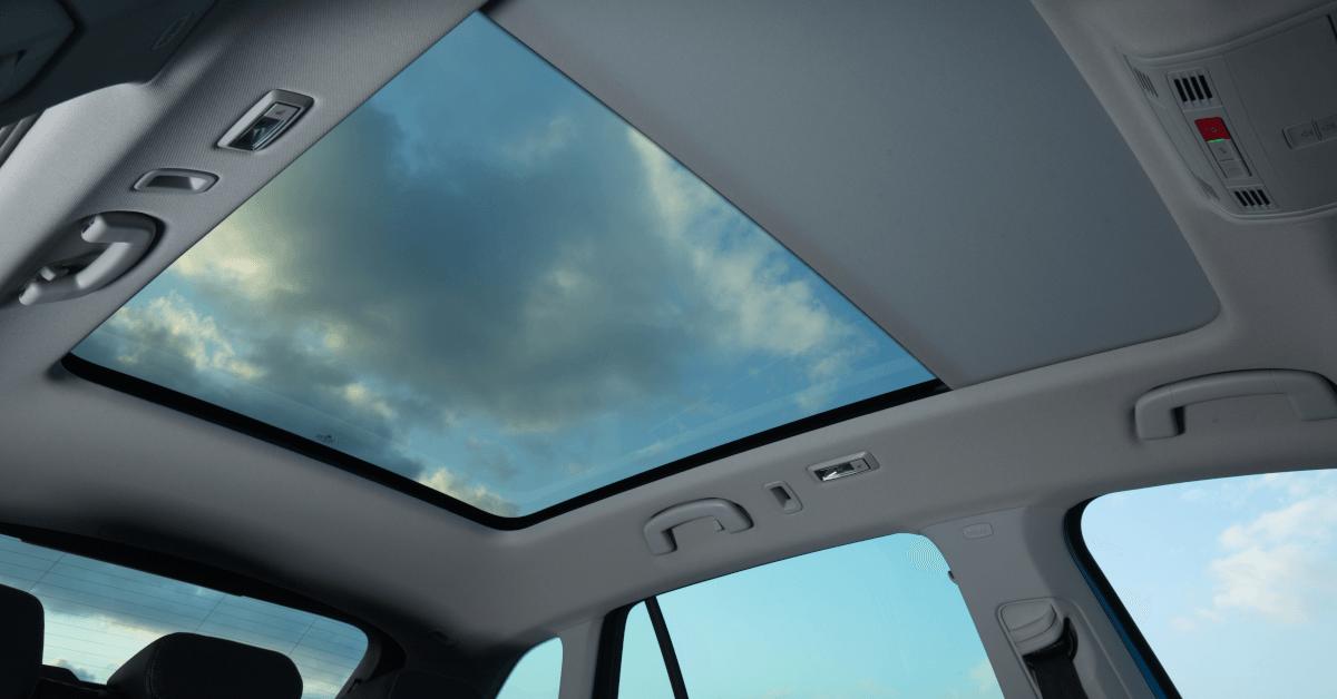 Techo panorámico del nuevo Škoda Scala