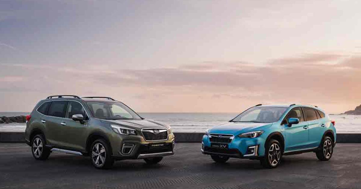 Nueva gama híbrida de Subaru: eficiencia y seguridad de serie