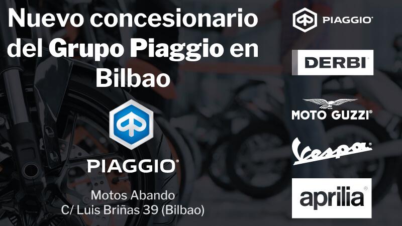 Grupo Piaggio Motos Abando Bilbao
