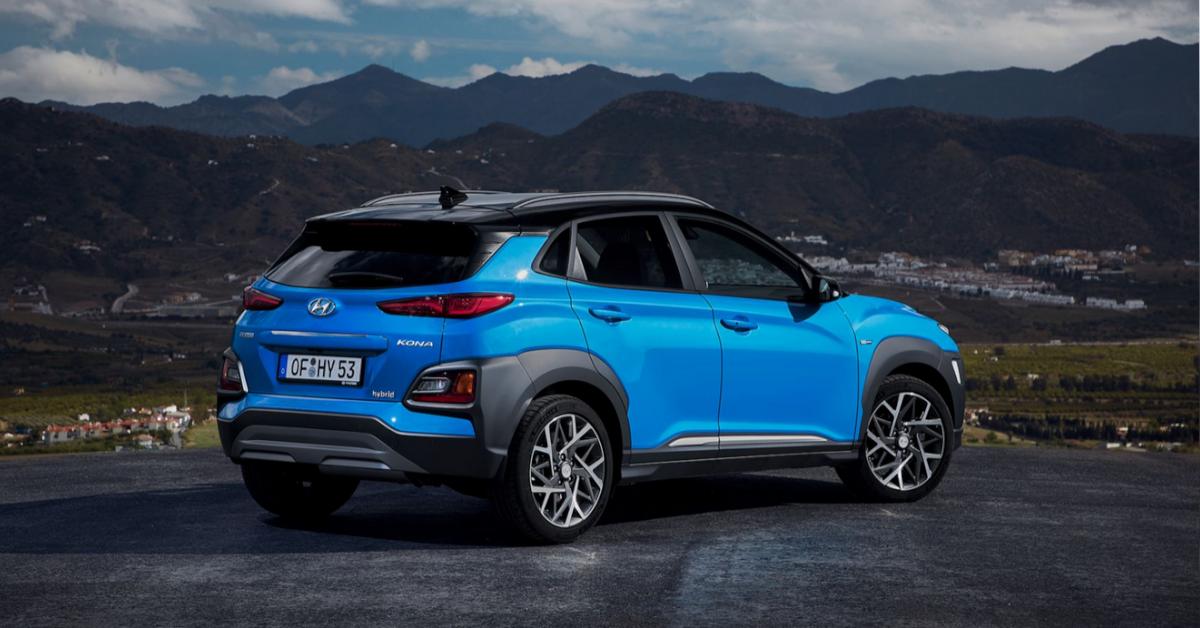 Hyundai Kona híbrido en renting para empresas o autónomos