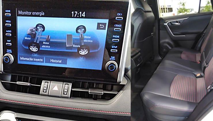 Suzuki Across 2020 interior