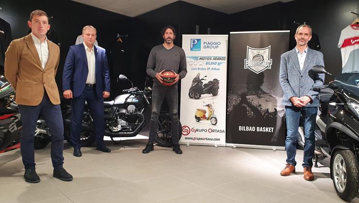 Motos Abando Patrocinador Oficial del RETAbet Bilbao Basket