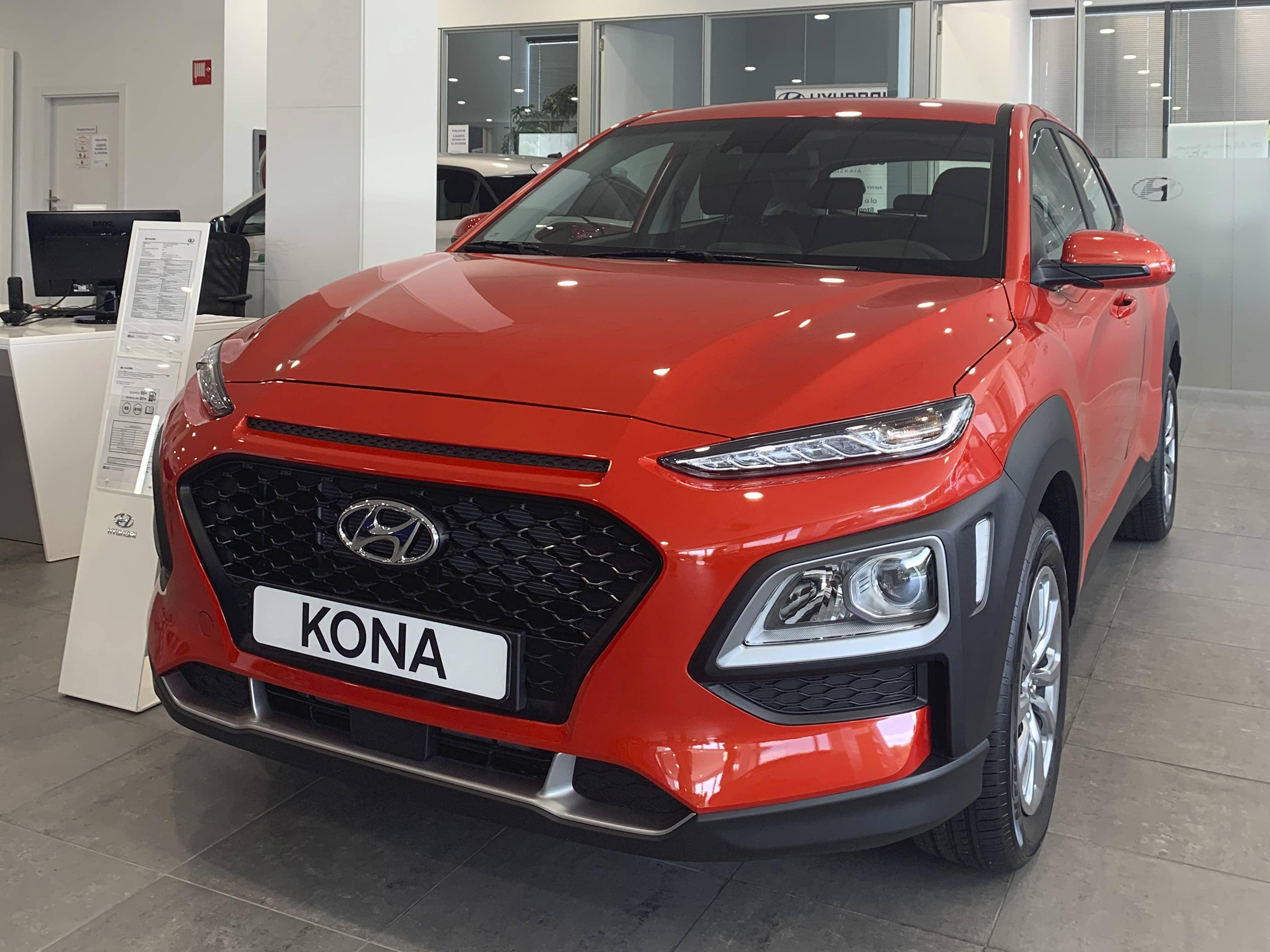 Hyundai Kona por sólo 13.900€* con el Plan Re-Nueva de Ortasa