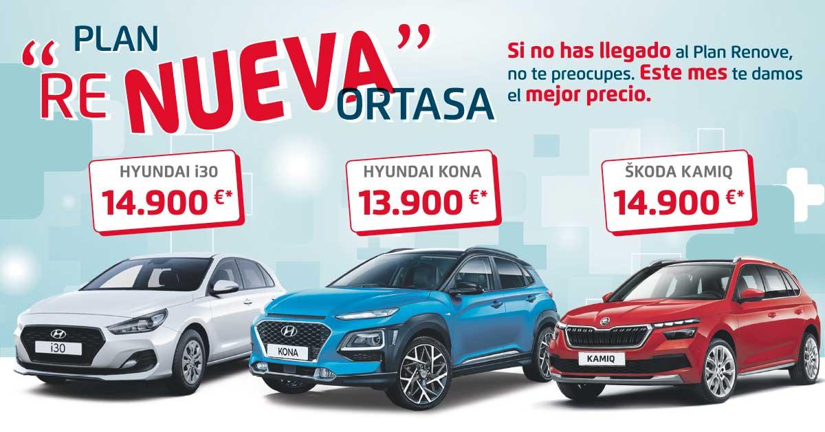 Plan Renueva de Ortasa: la mejor selección de coches por debajo de 15.000€*