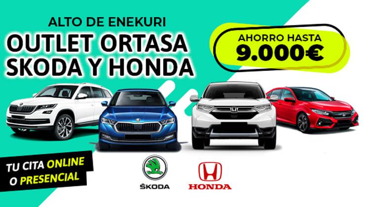 Outlet Honda y Škoda del 9 al 11 de Diciembre
